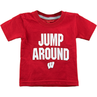 Image For College Kids Infant Jump Around T-Shirt (Red)