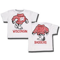 Cover Image For College Kids Headless Bucky T-Shirt (White)