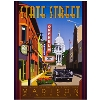 """Cover Image for Tom Morrison's """"Wisconsin State Capital"""" Poster"""