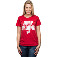 Image For Blue 84 Women's Jump Around T-Shirt (Red)