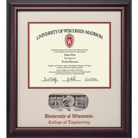 Image For Alumni Artwork School Diploma Frame-Engineering