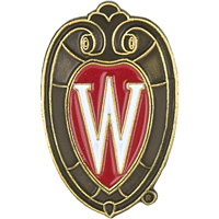 Cover Image For Neil Enterprises, Inc. Wisconsin Shield Lapel Pin