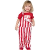 Image for Game Bibs Infant/Toddler Overalls (Red/White)