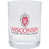 Image for Nordic Old Fashioned Glass Wisconsin Shield W