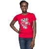 Image for Top Promotion Women's Bucky Badger T-Shirt (Red)