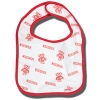 Image for Third Street Wisconsin and Bucky Badger Infant Bib (White)