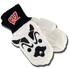 Image for ZooZatz Adult Texting Bucky Mittens