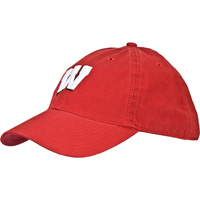 Cover Image For Legacy Youth Wisconsin Motion W Hat (Red)