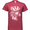 Cover Image for League Tri-Blend Bucky Badger T-Shirt (Gray)