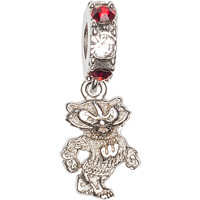Cover Image For Dayna U Bucky Badger Charm (Red/White)