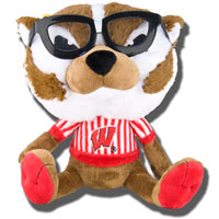 Image For Fabrique Bucky Badger Study Buddy Stuffed Animal
