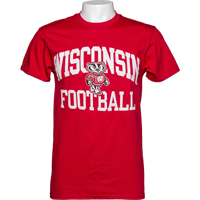 Image For Blue 84 WI Football T-Shirt 3X (Red) *