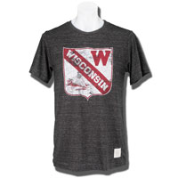 Image For The Original Retro Brand Crest T-Shirt (Charcoal)*