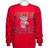 Cover Image for Blue 84 Long Sleeve Bucky Badger T-Shirt (Red) *