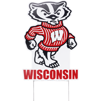 Image For CDI Corp Bucky Badger Lawn Sign