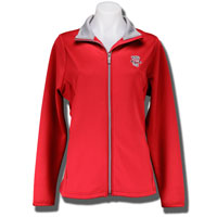 Image For Antigua Women's Bucky Badger Jacket (Red)