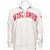 Image for '47 Brand Wisconsin Badgers ¼ Zip Sweatshirt (Sandstone)