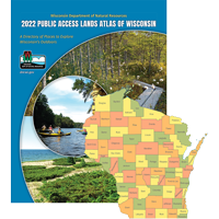 Image For Public Access Lands Atlas of WI -Individual County Books-