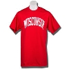 Cover Image for Top Promotions Tall Wisconsin T-Shirt (Cardinal)*