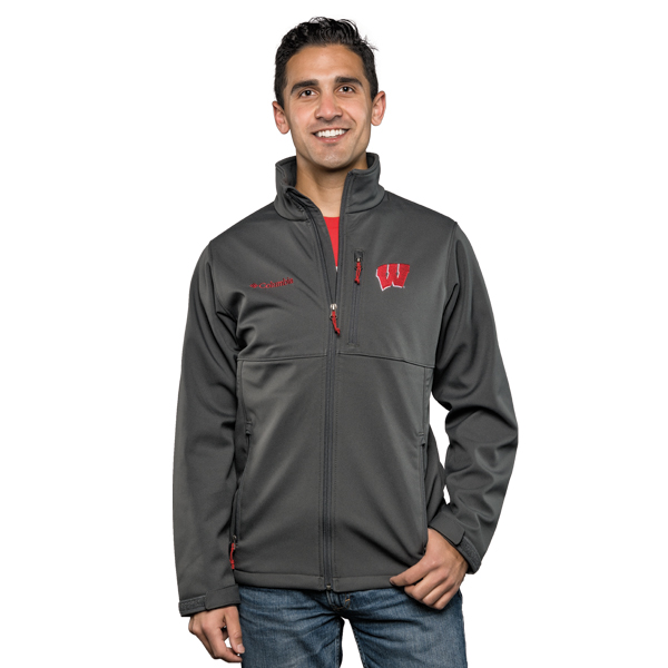 f3e308168 Columbia Ascender Softshell Jacket (Grill) | University Book Store