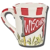 Cover Image for Magnolia Lane University of Wisconsin Mug (Red/White)