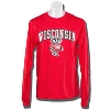 Image for Champion WI Bucky Long Sleeve T-Shirt (Red) *