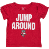 Image for College Kids Girl's Jump Around T-Shirt (Red)