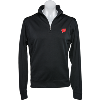 Image for Cutter & Buck Wisconsin Badgers ¼ Zip Shirt (Black)