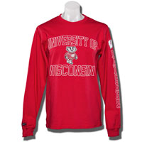 Image For Blue 84 UW Long Sleeve T-Shirt (Red)