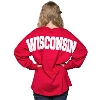 Cover Image for Boxercraft Women's WI Pom Pom Long Sleeve T-Shirt (Red) *