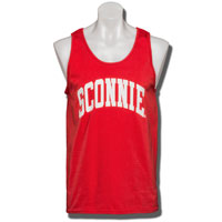 Image For Underground Printing Sconnie Tank Top (Red)