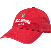 Cover Image For Legacy Adjustable School Hat - CALS (Red)