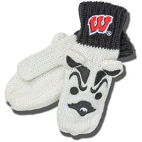 Cover Image For ZooZatz Youth Bucky Badger Mittens *