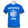Image for Wisconsin Flag T-Shirt (Royal Blue)