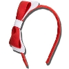 Image for Ashley on Campus Hairband (Red/White)