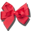 Image for Ashley on Campus Small Hair Bow (Red)